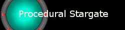 Procedurally Generated Stargate Game