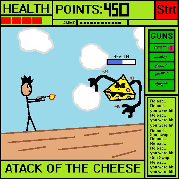 The Evil Cheese Man by 6CreativeBrain9 on DeviantArt