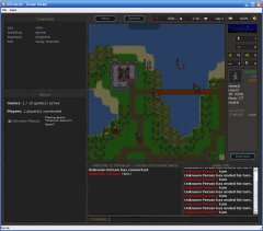 Powerful game creation system for making and playing multiplayer online games