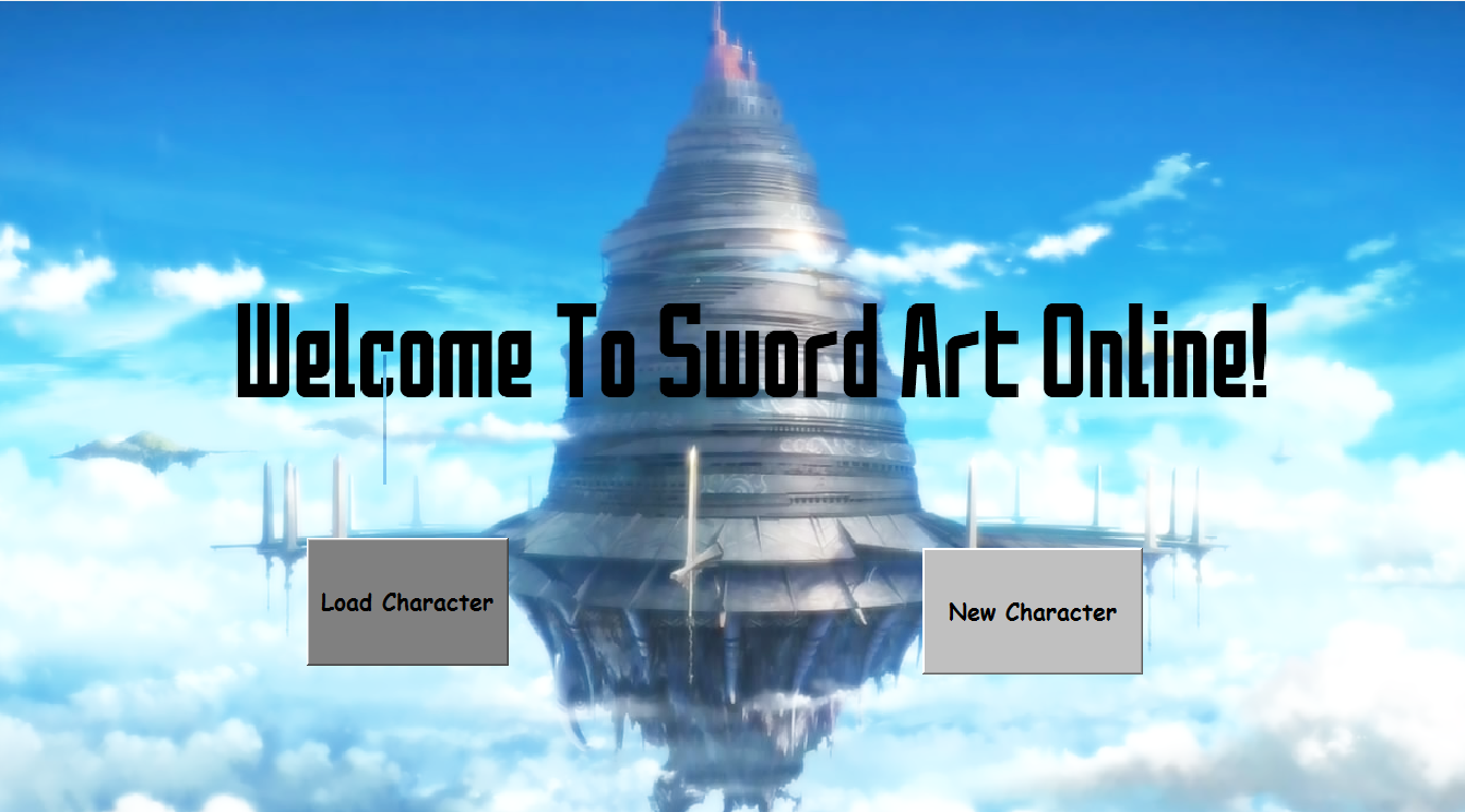 Sword Art Online By Kboy33 At Byond Games